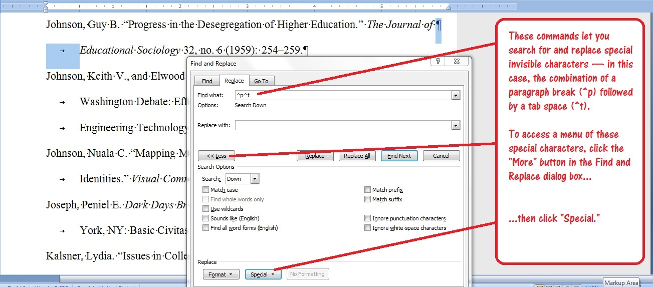 Hanging Indents With Ms Word Ruler The Proofreading Pulse